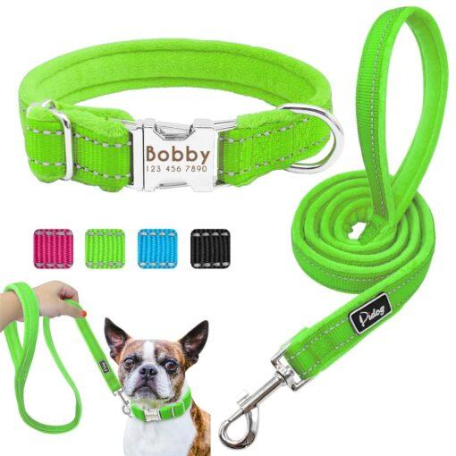 5520 3ynuk5 510x510 - Halsband hond met naam en telefoonnummer nylonmet riem
