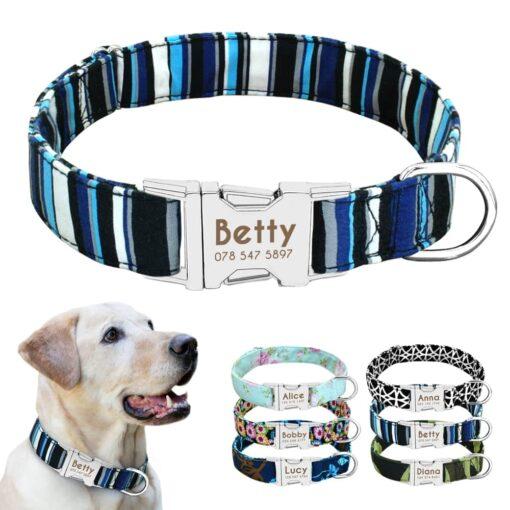 5722 ualylp 510x510 - Halsband hond met naam en telefoonnummer nylon 6 patronen