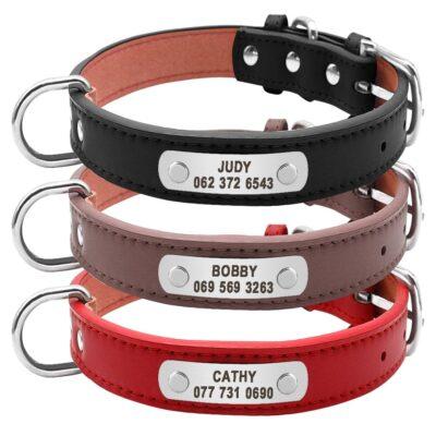 85b357739026af854d6d532c7bef1a5d 1 400x400 - Halsband hond met naam en telefoonnummer van leer