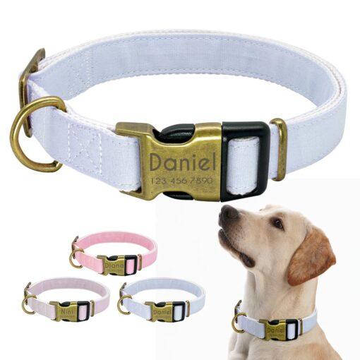 Hond 2 510x510 - Halsband hond met naam en telefoonnummer vintage uitstraling