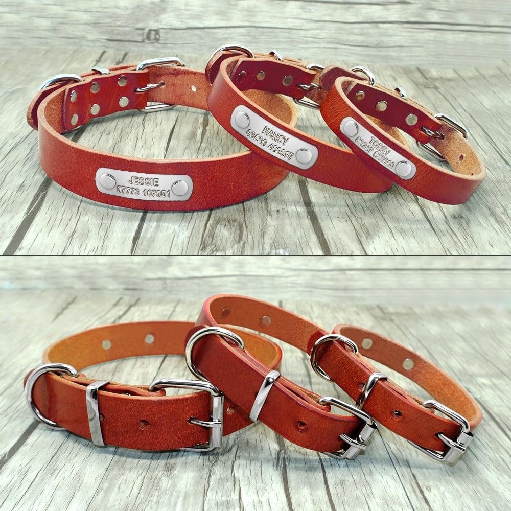 a3bd103968e9d7f4617f5f4a6093a9ff - Halsband hond met naam en telefoonnummer zilveren naamplaat